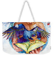 Inspiration Spreads Its Wings Weekender Tote Bag