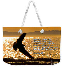 Inspirational - On The Move Weekender Tote Bag