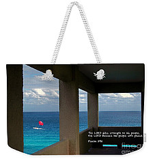 Inspirational - Picture Windows Weekender Tote Bag