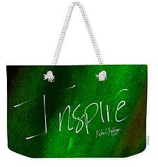 Inspire Weekender Tote Bag