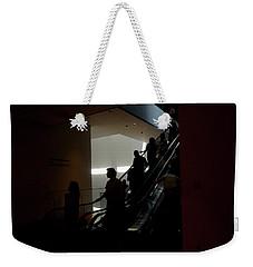 Inspired #2  Escalator Silhouettes Weekender Tote Bag