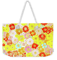 Inspired By Persimmon Weekender Tote Bag by Lorna Maza