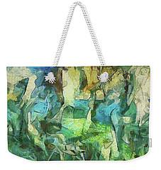 Inspired By Roberto Matta Weekender Tote Bag