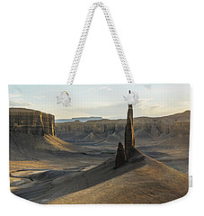 Weekender Tote Bag featuring the photograph Inspired Light by Dustin LeFevre