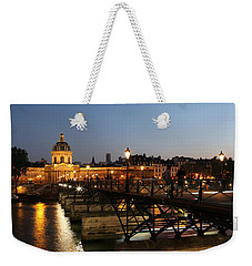 Weekender Tote Bag featuring the photograph Institute Of France by Andrew Fare
