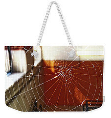 Weekender Tote Bag featuring the photograph Intact Abandonment by Robert Knight