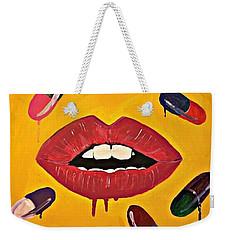 Intake Creativity  Weekender Tote Bag by Miriam Moran