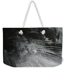 Weekender Tote Bag featuring the painting Intelligent Answers by Robin Maria Pedrero
