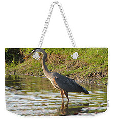 Intense Fishing Weekender Tote Bag