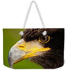 Intense Gaze Of A Golden Eagle Weekender Tote Bag