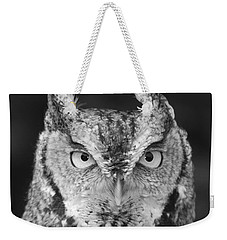 Weekender Tote Bag featuring the photograph Intense Stare by Richard Bryce and Family