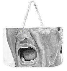 Intensity Federer Weekender Tote Bag by Tamir Barkan