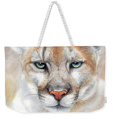 Intensity - Mountain Lion - Puma Weekender Tote Bag