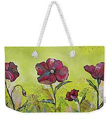 Intensity Of The Poppy II Weekender Tote Bag by Shadia Derbyshire