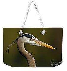 Intensity Of A Heron Weekender Tote Bag