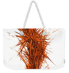 Weekender Tote Bag featuring the painting Intensive Abstract Painting 1029.050512 by Kris Haas