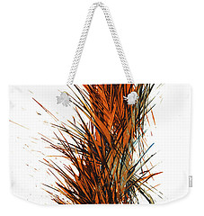 Weekender Tote Bag featuring the painting Intensive Abstract Painting 1030.050512 by Kris Haas