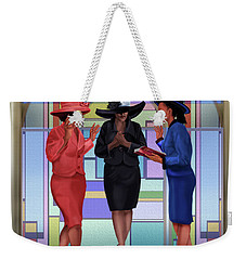 Interceding On A Sunday Morning Weekender Tote Bag