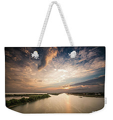 Intercoastal Sky Weekender Tote Bag
