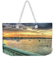 Intercoastal Sunset Weekender Tote Bag