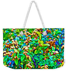 Intergalactic Orange Grove Weekender Tote Bag