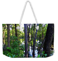 Interior Lake Chale Island Weekender Tote Bag
