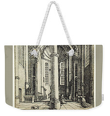 Interior Of The Church Of Saint Katherine Weekender Tote Bag