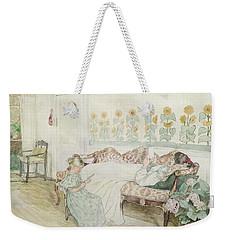 Interior Weekender Tote Bag by Peder Severin Kroyer