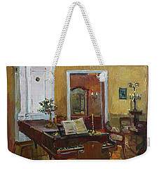 Interior With Piano Weekender Tote Bag