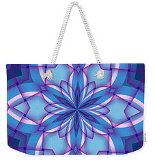 Interlaced Weekender Tote Bag