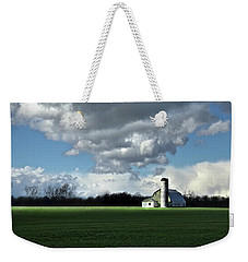 Weekender Tote Bag featuring the photograph Interlude by Robert Geary