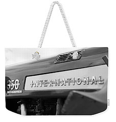 Weekender Tote Bag featuring the photograph International 350 by Rick Morgan