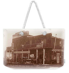 International Cafe Weekender Tote Bag