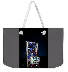 Weekender Tote Bag featuring the photograph International Car Forest Of The Last Church 3 by James Sage