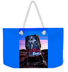 Weekender Tote Bag featuring the photograph International Car Forest Of The Last Church 4 by James Sage