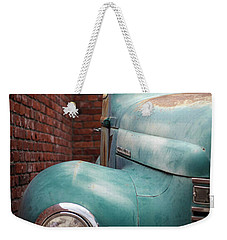 Weekender Tote Bag featuring the photograph International Truck 1 by Heidi Hermes