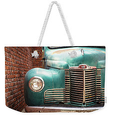 Weekender Tote Bag featuring the photograph International Truck 2 by Heidi Hermes