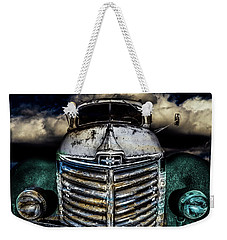 Weekender Tote Bag featuring the photograph International Truck 6 by Michael Arend