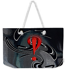 Interrobang First Weekender Tote Bag by rd Erickson