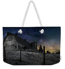 Weekender Tote Bag featuring the photograph Interstellar Farm by Bill Wakeley