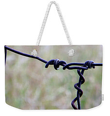 Weekender Tote Bag featuring the photograph Intertwined by Tina M Wenger