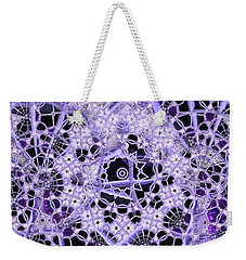 Weekender Tote Bag featuring the digital art Interwoven by Ron Bissett