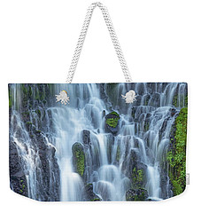 Weekender Tote Bag featuring the photograph Intimate Burney Falls by Patricia Davidson
