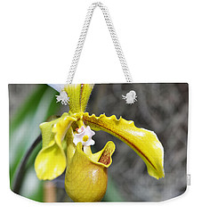 Intimate Orchid 5 - Sharon Cummings Weekender Tote Bag by Sharon Cummings