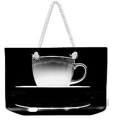 Intimidating Cup Of Coffee Weekender Tote Bag