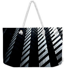 Weekender Tote Bag featuring the photograph Into Light by Eric Christopher Jackson