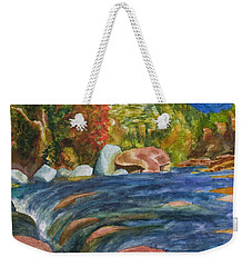 Into Slide Rock Weekender Tote Bag