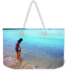 Into The Blue Cokes Weekender Tote Bag