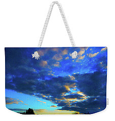 Into The Blue Weekender Tote Bag by Mark Blauhoefer