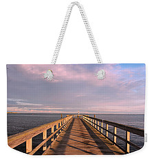 Into The Clouds Weekender Tote Bag by Karen Silvestri